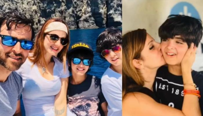 Sussanne Khan Wishes 'Artist Son' Hridhaan Roshan On His 12th Birthday, Shares Their Unseen Memories