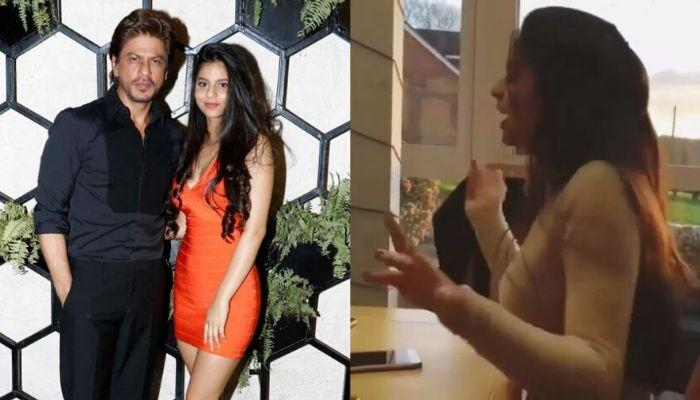 Shah Rukh Khan's Daughter, Suhana Khan Secretly Captured Grooving And Singing Eminem's Song, Watch