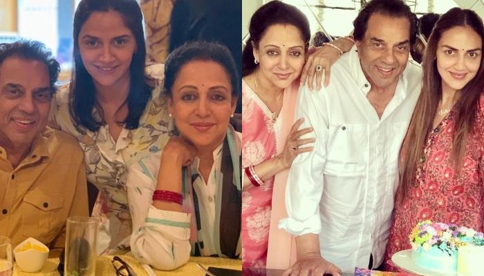 Hema Malini And Dharmendra's Daughters, Esha Deol And Ahana Deol Wish Them On Their 40th Anniversary