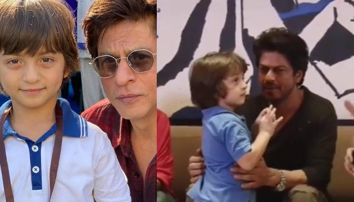 AbRam Khan Won Our Hearts With His Innocence In This Throwback Video With Daddy, Shah Rukh Khan