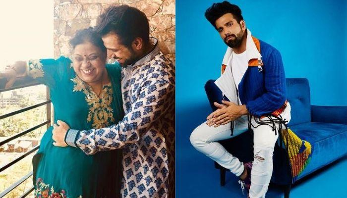 Rithvik Dhanjani Celebrates His Mother's Birthday, Gives Her A Warm Kiss, Pens An Important Message