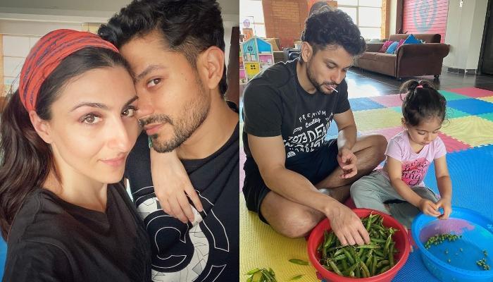 Soha Ali Khan Shares How Daddy, Kunal Kemmu Is Keeping Daughter, Inaaya Happy Amidst The Lockdown