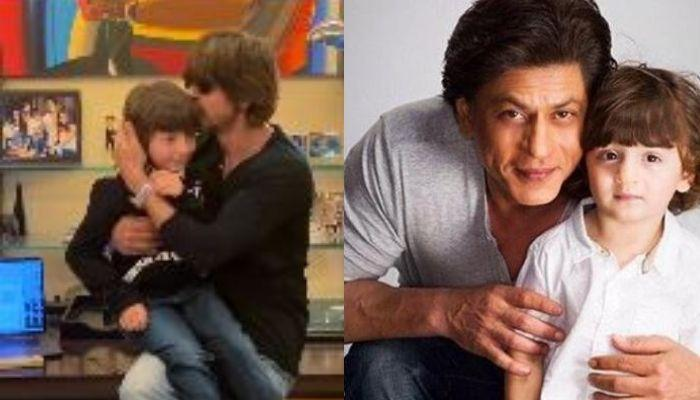 AbRam Khan Dances And Jams With Father, Shah Rukh Khan, Little Wonder Later Says, 'Papa Enough Now'