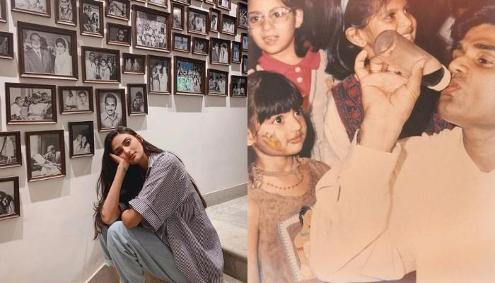 Athiya Shetty Recalls Her Childhood In This Adorable Throwback Family Picture