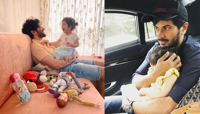 Dulquer Salmaan Pens A Poem For Daughter, Maryam On Third Birthday Wondering Why She Grew Up So Fast