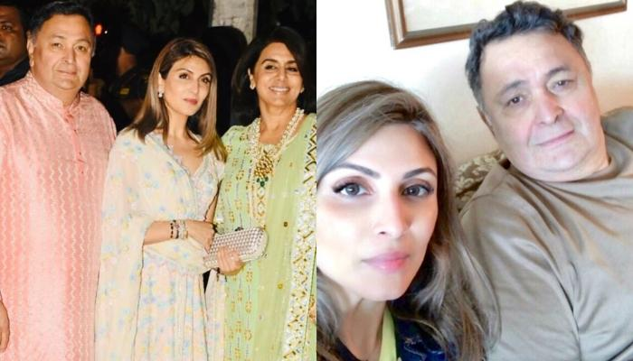 Riddhima Kapoor Sahni Shares Rishi Kapoor's Unseen Picture With His Mother, Krishna Raj Kapoor