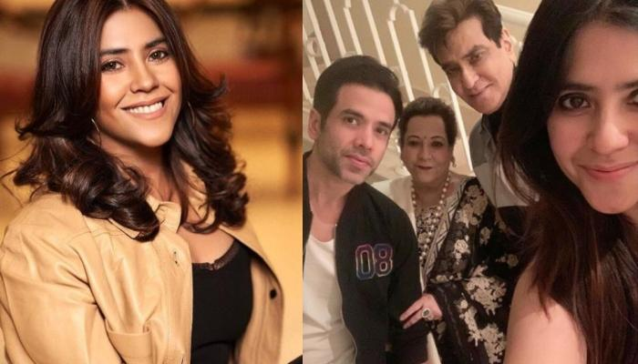 Ekta Kapoor Shares Unseen Family Photo With Brother, Tusshar And Parents Jeetendra And Shobha Kapoor