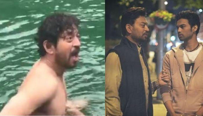Irrfan Khan's Son, Babil Shares Throwback Videos Of His Late Father, Taking A Dip In A Freezing Lake