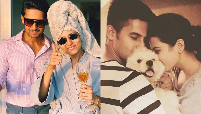 Ravi Dubey Shares A Throwback Picture With His Wife, Sargun Mehta From Their 'Nach Baliye' Days