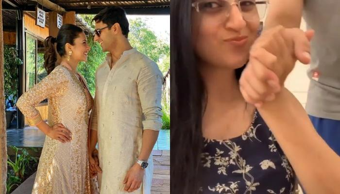 Divyanka Tripathi Kisses Husband, Vivek Dahiya's Hands For Making Such A Yummy Pasta