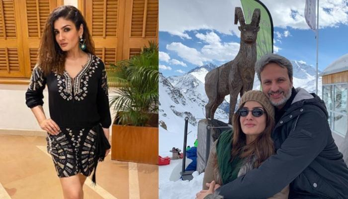 Raveena Tandon Misses Her Summer Vacation, Shares Throwback Pictures Reminiscing Snowy Mountains