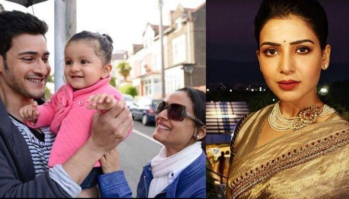 Mahesh Babu's Daughter, Sitara Had Mimicked Her Father's Co-star, Samantha Akkineni's Dialogue