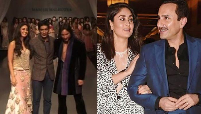 Manish Malhotra Recalls The Time When Kareena And Saif Walked The Ramp Together, Holding Hands