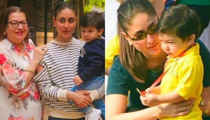 Kareena Kapoor Khan Looks Identical As Son, Taimur Ali Khan In This Photo With Mom, Babita Kapoor