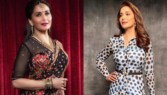 Madhuri Dixit Shares A Rare Childhood Picture With Sister That Shows Of Their Uncanny Resemblance