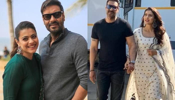 Ajay Devgn Shares A 22-Year-Old Monochrome Picture With Wife, Kajol Devgan Amidst Lockdown
