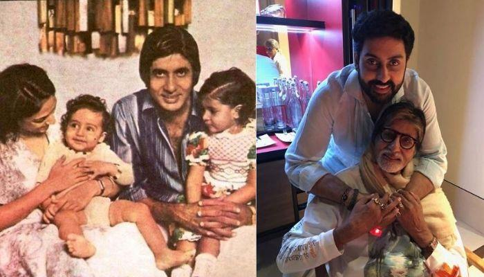 Abhishek Shares A 1981 Video, When Big B Had Introduced Him And His Shweta 'Di' To The World