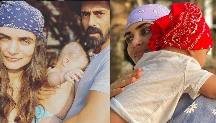 Arjun Rampal Wishes His GF, Gabriella On Her First Mother's Day On Behalf Of Their Son, Arik Rampal