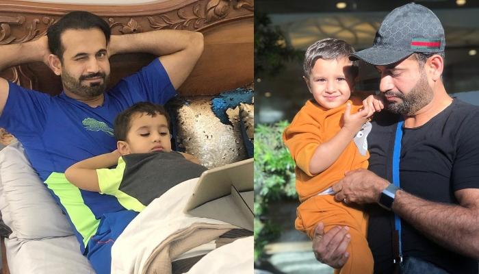 Irfan Pathan Flaunts His Hair-Styling Talent As He Cuts His Son, Imran's Hair Amidst Lockdown