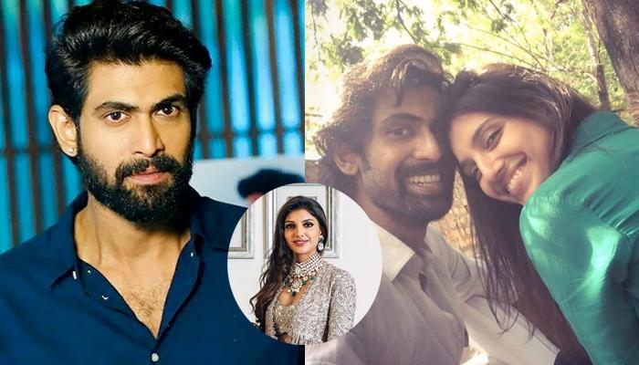 Rana Daggubati Of 'Baahubali' Confirms His Relationship With Miheeka Bajaj As She Said 'Yes'