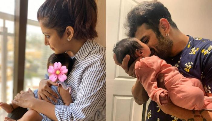 Ankita Bhargava Thanks Her Little Doll, Mehr, Who Just Turned 5-Month Old For Choosing Them