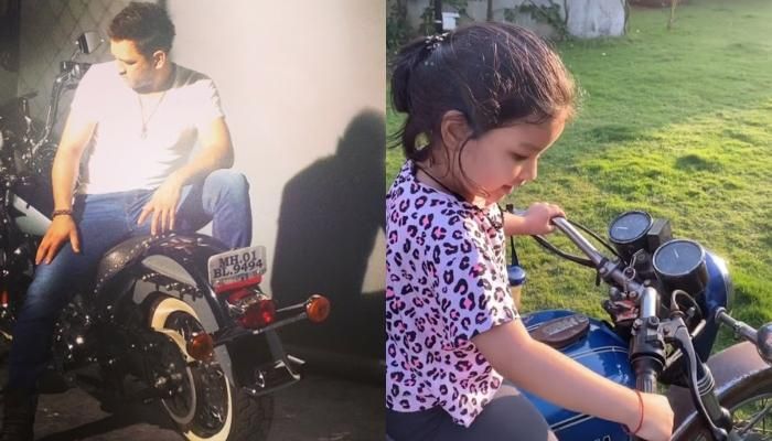 Mahendra Singh Dhoni's Daughter, Ziva Singh Dhoni Learns To Ride Bike, Video Inside