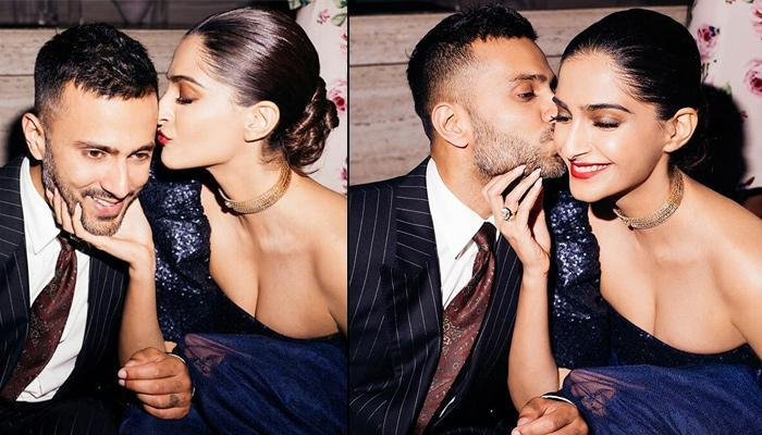 Anand Ahuja Kisses Wife, Sonam Kapoor, She Reveals Why She Calls Him Gautam Buddha