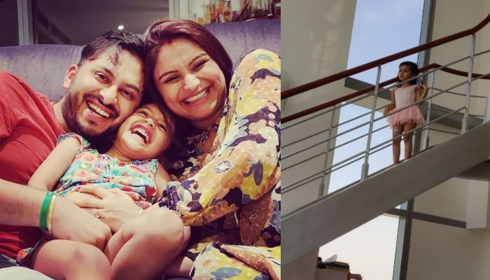 Dimpy Ganguly Posts Video Of Daughter, Reanna Debating With Daddy, Rohit Roy About Sleeping Beauty