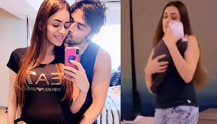 Smriti Khanna's Hubby, Gautam Gupta Secretly Films His Wife's Dancing Gig With Their Baby Girl