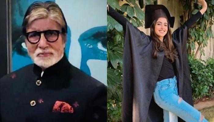 Amitabh Bachchan Wonders How Time Flies As From A 'Baby In A Cot', Navya Nanda Becomes A Graduate