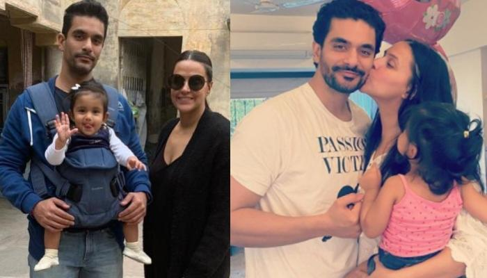 Neha Dhupia Reveals If Mehr Is A Daddy's Girl Or Mommy's, Angad Bedi Reveals Whom He Loves The Most