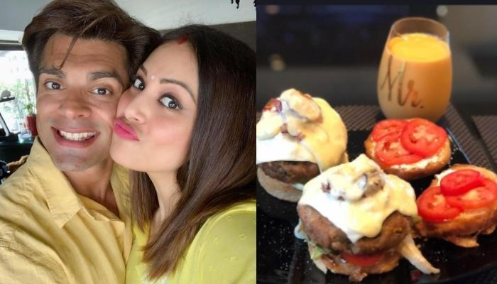 Bipasha Basu Makes Veg Burgers And Her 'Happy Hubby', Karan Singh Grover Couldn't Stop Praising Her