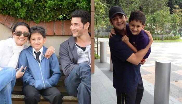 Namrata Shirodkar's Son, Gautam Loses To Father, Mahesh Babu In A Fun Game. Video Inside