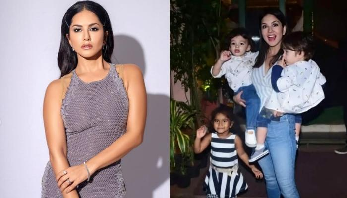 Sunny Leone's Monochrome Picture Looking Out For 'Sunshine' With Her Kids Is All About Hope