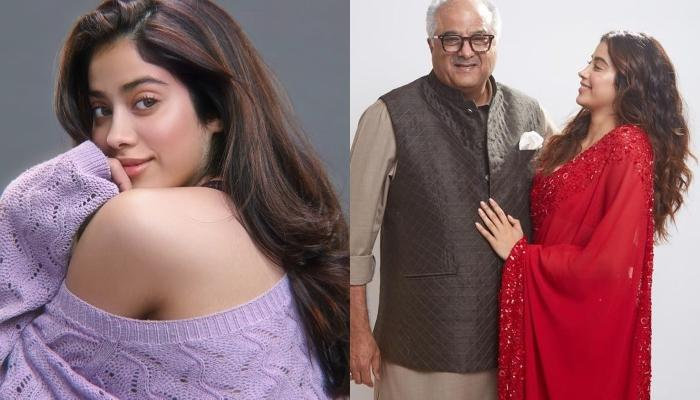 Janhvi Kapoor's House Help Tested Positive For COVID-19, Daddy, Boney Kapoor Shares A Message