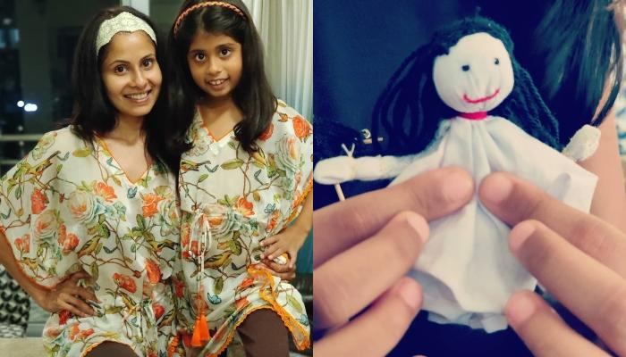 Chhavi Mittal Sews A Doll For Her 'Little Doll', Areeza As She Was Feeling Low Amidst The Lockdown