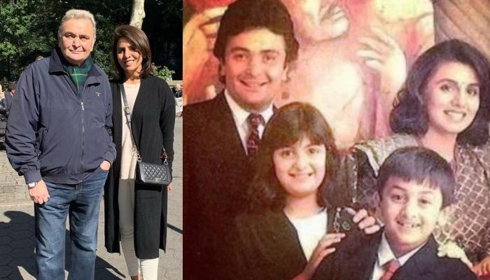 Neetu Kapoor Wishes To Capture Time With A Throwback Family Picture Featuring Rishi Kapoor