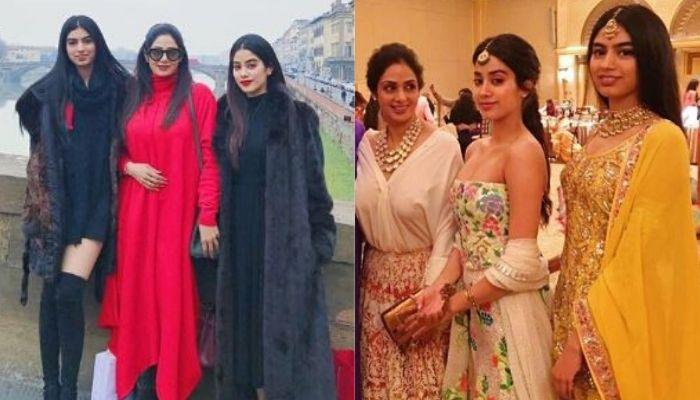 Janhvi Kapoor Twinned With Late Mom, Sridevi And Sister, Khushi In Kimono Proved To Be Fashionistas