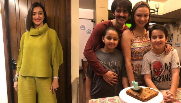 Gauri Pradhan Shares A Picture Of An Oreo Cake Baked By Her Little Munchkins, Neevan And Katya
