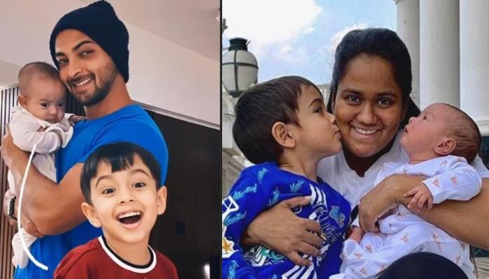 Aayush Sharma And Arpita Khan Sharma's Son, Ahil Kissing His Sister Ayat Gives Major Sibling Goals