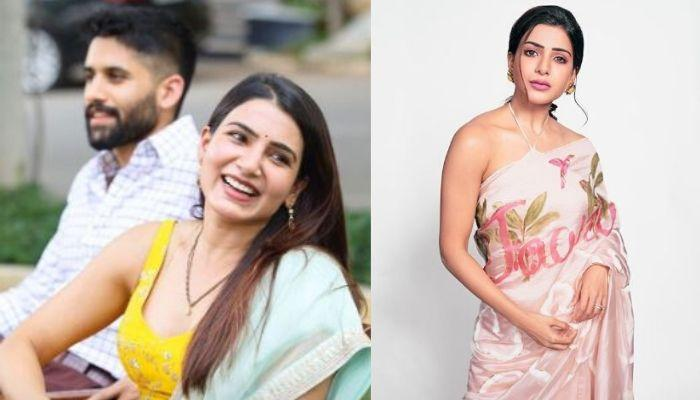 Samantha Akkineni Repeats Her Sabyasachi Outfit For Best Friend, Rana Daggubati's 'Roka' Ceremony