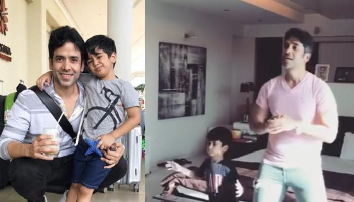 Tusshar Kapoor's Jamming Session With His Little Munchkin, Laksshya Kapoor Is All About Daddy's Love