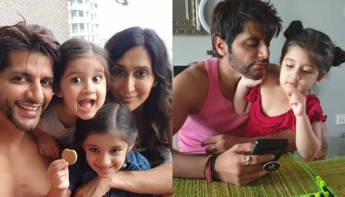 Karanvir Bohra's Daughter Bella Is Mad At Him For Hitting Mommy, Teejay Sidhu, Asks Him To Apologise