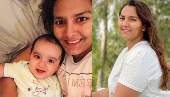 Geeta Phogat Posts A Then-And-Now Collage Of Post Pregnancy 17kgs Weight Gain With An Inspiring Note