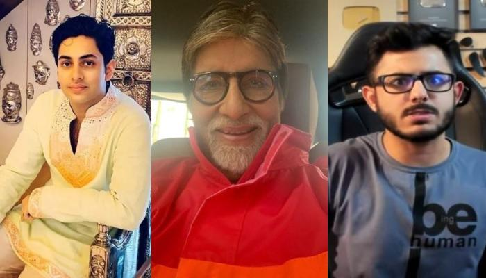 Amitabh Bachchan Posts Photo With Grandson, Fans Mistook Him For Carry Minati, Actor Gave This Reply