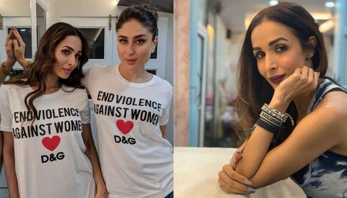 Malaika Arora Takes Inspiration From BFF, Kareena's Quarantine Styling, Bebo's Reply Is Unmissable