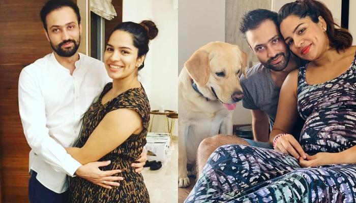 Shikha Singh Of 'Kumkum Bhagya' Flaunts Her Baby Bump In These Adorable Family Pictures With Pooch