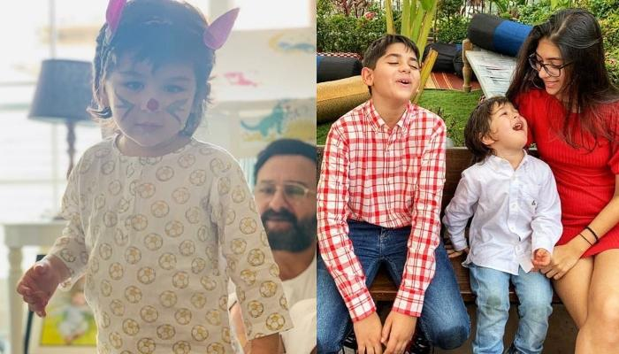 Taimur Ali Khan Learns Taekwondo From His Cousin, Kiaan, Karisma Kapoor Shares A Cute Picture