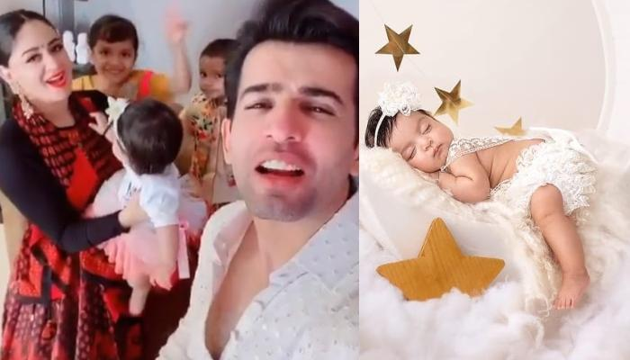 Mahhi Vij And Jay Bhanushali's Daughter, Tara Celebrates Her First Eid With Family [Video]