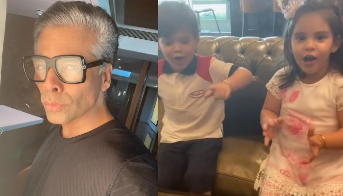 Karan Johar's Kids, Yash And Roohi Doesn't Want Their 'Dadda' To Have His Birthday Cake